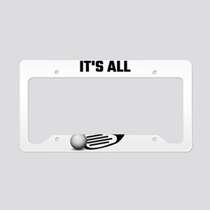 It's All About The Hole License Plate Holder