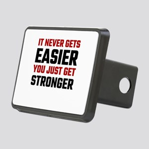 It Never Gets Easier You J Rectangular Hitch Cover
