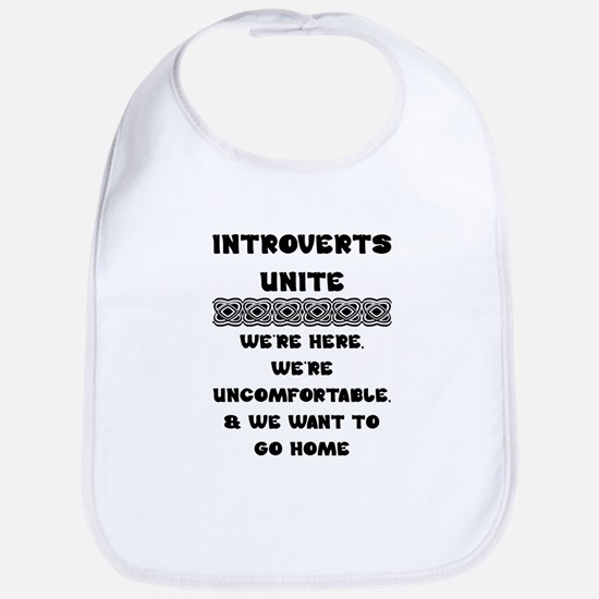 Introverts Unite Bib