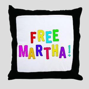Free Martha Throw Pillow