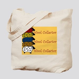 Wool Collector Tote Bag -Cute Sheep Design.