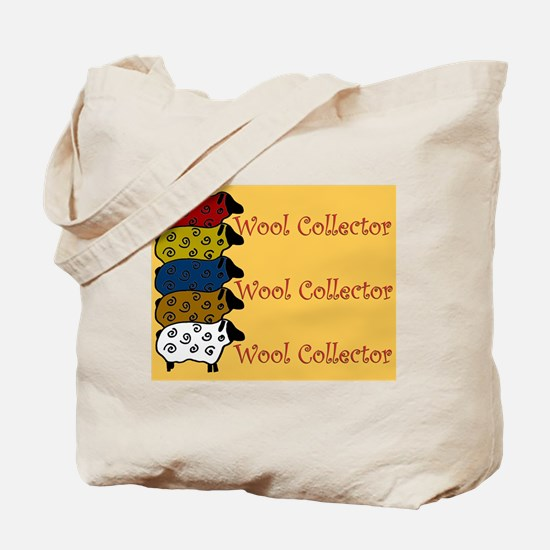 Wool Collector Tote Bag -Cute Sheep Design.