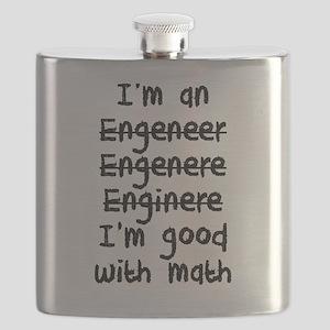 I'm An Engineer I'm Good At Math Flask