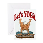 Let's Yoga Greeting Cards (Pk of 10)