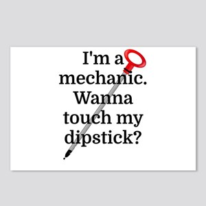 I'm a Mechanic. Wanna tou Postcards (Package of 8)