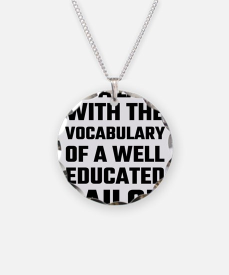 I'm A Lady With The Vocabula Necklace