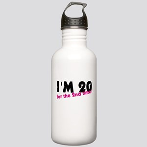 I'm 20 For The 2nd Tim Stainless Water Bottle 1.0L
