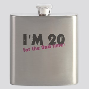 I'm 20 For The 2nd Time Flask