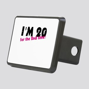 I'm 20 For The 2nd Time Rectangular Hitch Cover