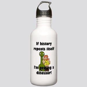 If history repeats its Stainless Water Bottle 1.0L