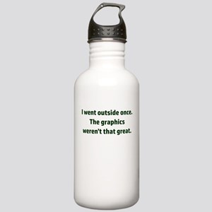 I went outside once. T Stainless Water Bottle 1.0L