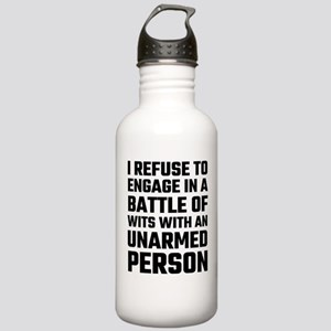 I refuse To Engage In Stainless Water Bottle 1.0L