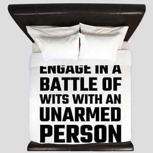 I refuse To Engage In A Battle Of Wits King Duvet