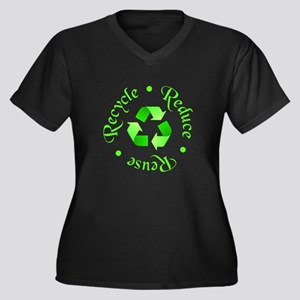 Reduce - Reuse - Recycle Plus Size T-Shirt