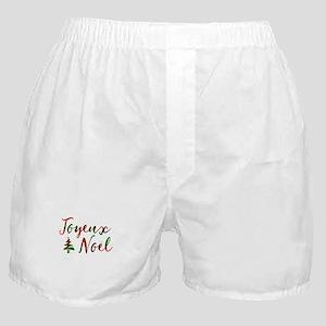 joyeux noel Boxer Shorts