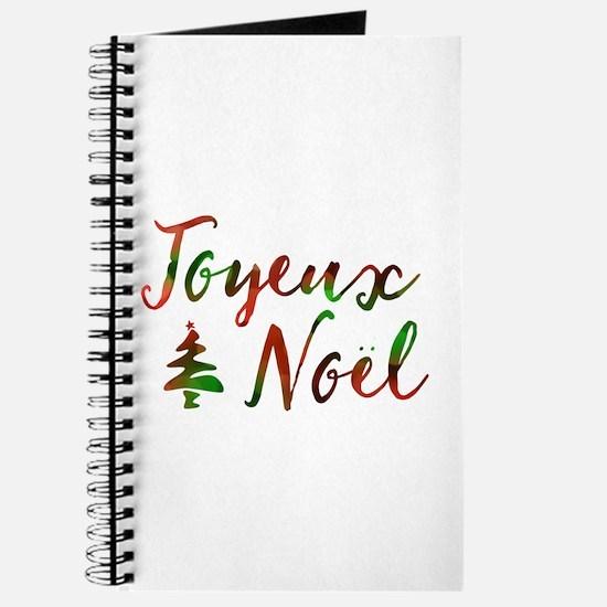 joyeux noel Journal