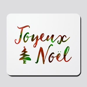 joyeux noel Mousepad