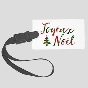 joyeux noel Luggage Tag