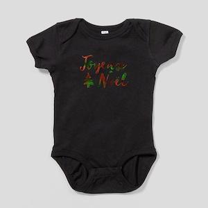 joyeux noel Baby Bodysuit