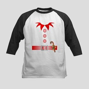 funny christmas elf Baseball Jersey