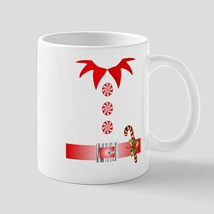 funny christmas elf Mugs