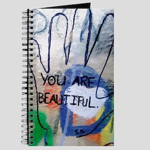You Are Beautiful Graffiti Journal