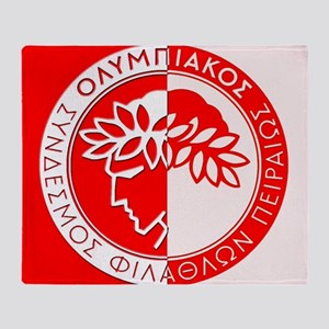 Olympiacos FC 3 Throw Blanket