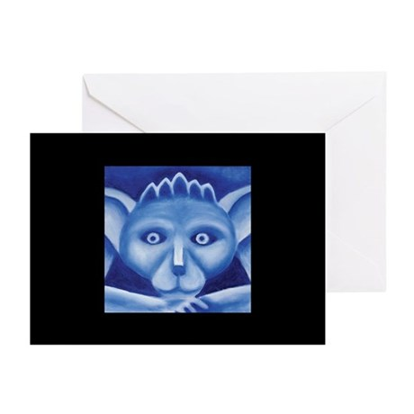 Ten Blue Irving Greeting Cards