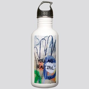 You Are Beautiful Graf Stainless Water Bottle 1.0L