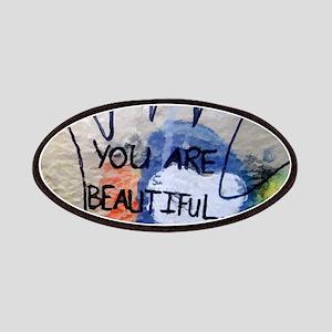 You Are Beautiful Graffiti Patch