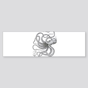 Large nautical steampunk vintage kr Bumper Sticker