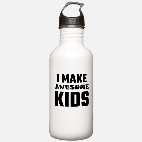 I Make Awesome Kids Water Bottle