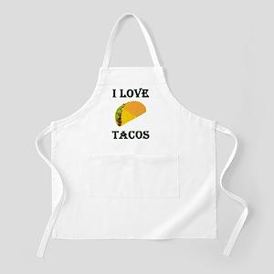 I LOVE TACOS Apron