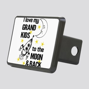 I Love My Grand Kids To Th Rectangular Hitch Cover