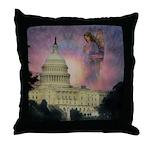 #184 Angel : Throw Pillow