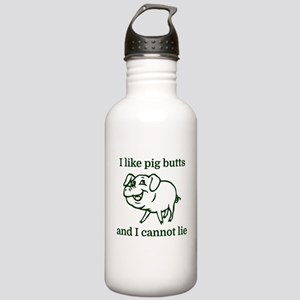 I like pig butts and I Stainless Water Bottle 1.0L