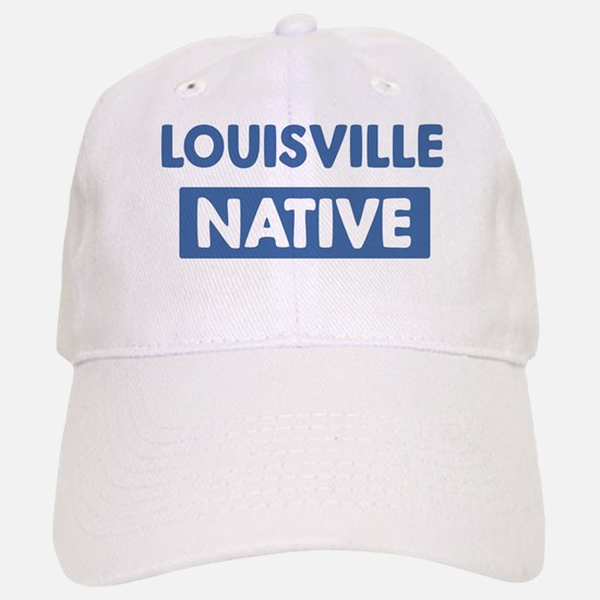 LOUISVILLE native Baseball Baseball Cap