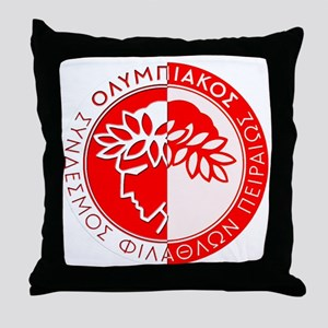 Olympiacos FC 4 Throw Pillow