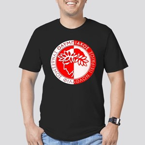 Olympiacos FC 4 Men's Fitted T-Shirt (dark)