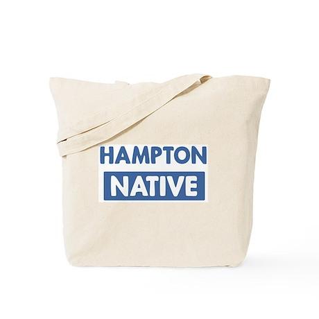 HAMPTON native Tote Bag