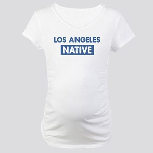 LOS ANGELES native Maternity T-Shirt