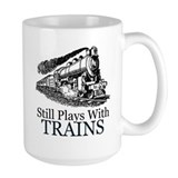 Trains Large Mugs (15 oz)