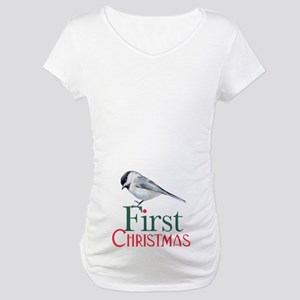 First Christmas Maternity T-Shirt
