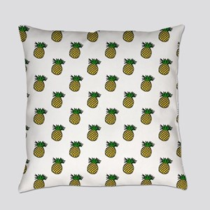 Cute Tropical Pineapples Everyday Pillow