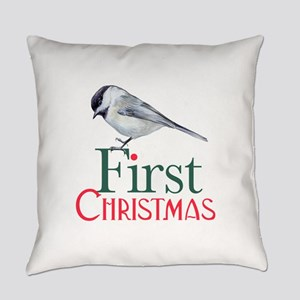 First Christmas Everyday Pillow
