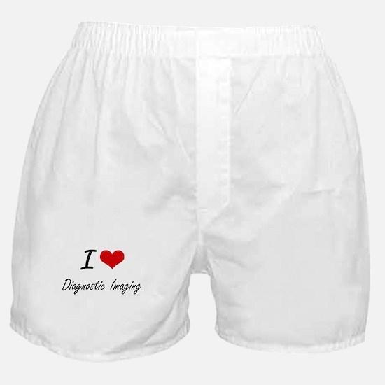 I Love Diagnostic Imaging artistic de Boxer Shorts