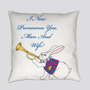Man And Wife Everyday Pillow