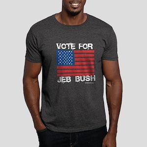 Vote for Jeb Bush Dark T-Shirt