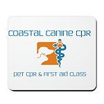 coastal canine CPR Mousepad