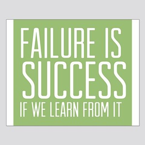 Failure is Success Posters